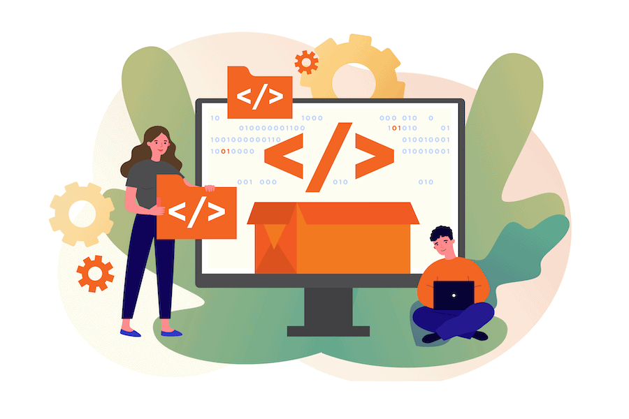 Illustration for number8 white paper, Migrating from .NET to .NET Core